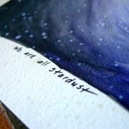 Stardust, detail, by Amy Crook