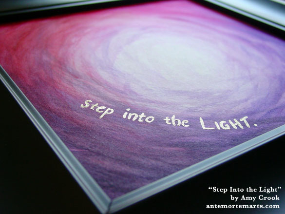 Step Into the Light, detail, by Amy Crook