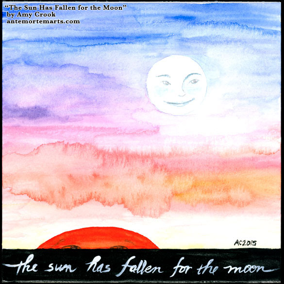 The Sun Has Fallen for the Moon by Amy Crook