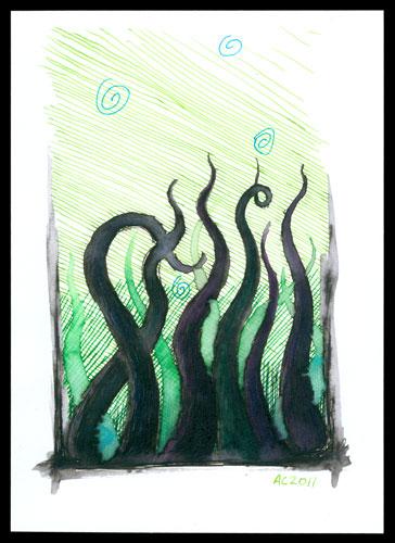 Tentacle Deeps 14, art by Amy Crook