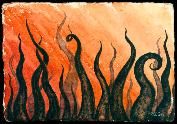 Tentacle Deeps 16, art by Amy Crook