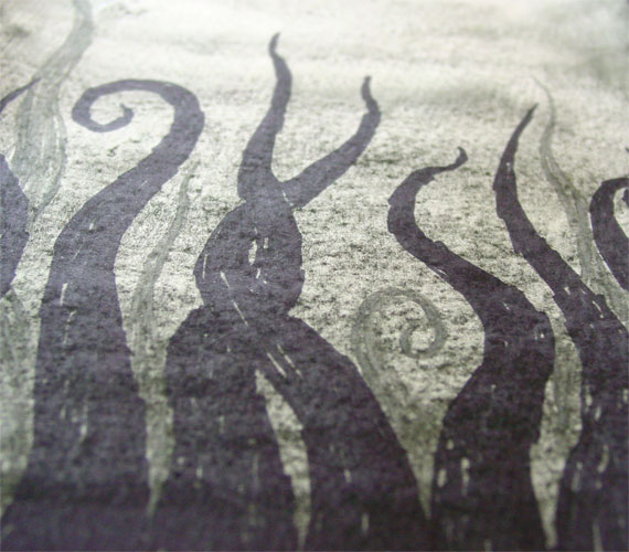 Tentacle Deeps 17, detail, by Amy Crook