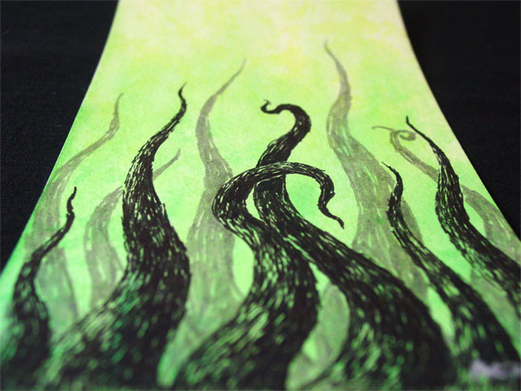 Tentacle Deeps 24, detail, by Amy Crook