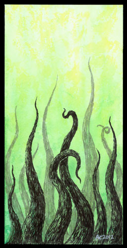 Tentacle Deeps 24 by Amy Crook
