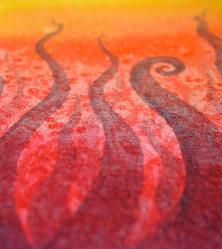 Tentacle Deeps 27, detail, by Amy Crook
