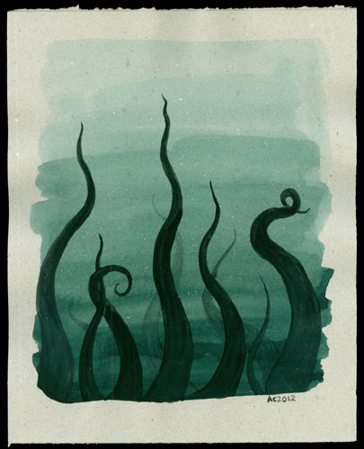 Tentacle Deeps 28 by Amy Crook