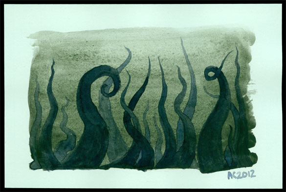 Tentacle Deeps 30 by Amy Crook