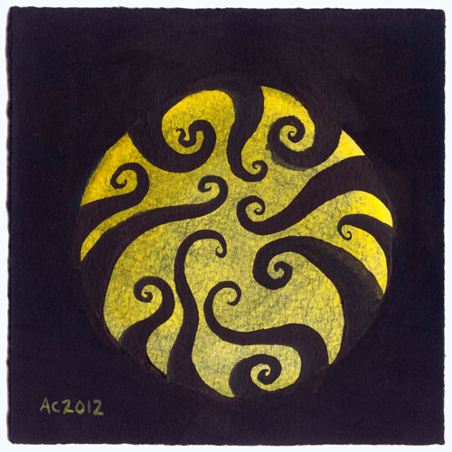 Tentacle Spiral 4 by Amy Crook