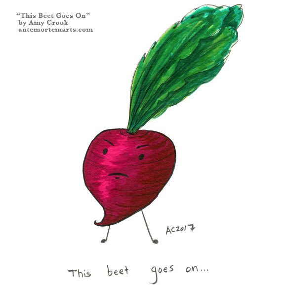 This Beet Goes On illustration by Amy Crook