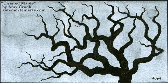 Twisted Maple by Amy Crook