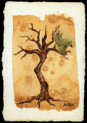 Twisted Tree, art by Amy Crook