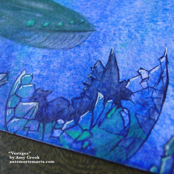 Vestiges, detail, by Amy Crook