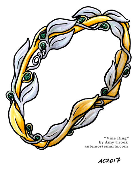Vine Ring by Amy Crook