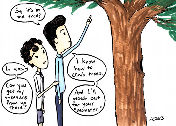 The Brothers Holmes, Bonus Comic 2, by Amy Crook