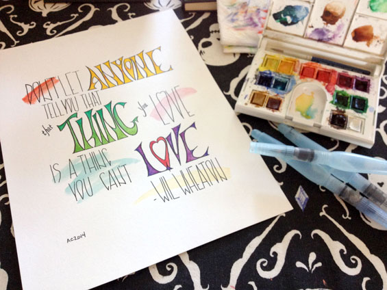 That Thing You Love, original, by Amy Crook