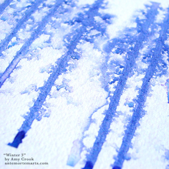 Winter 3, detail, by Amy Crook