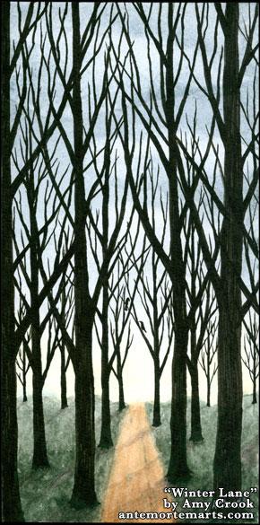 Winter Lane by Amy Crook