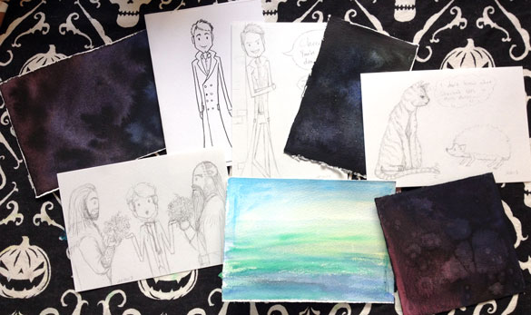 Some of my current Works in Progress