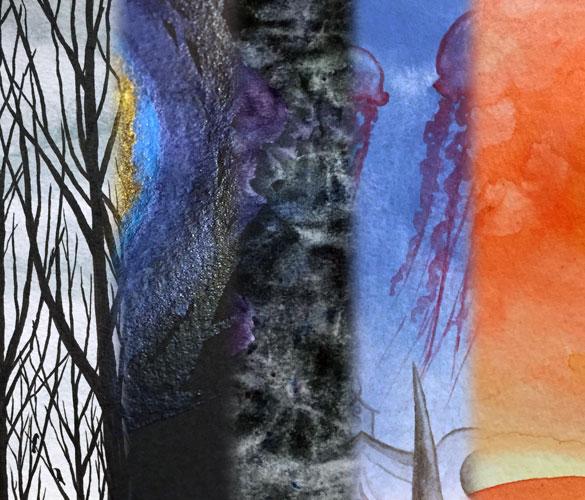 5 Works in Progress by Amy Crook
