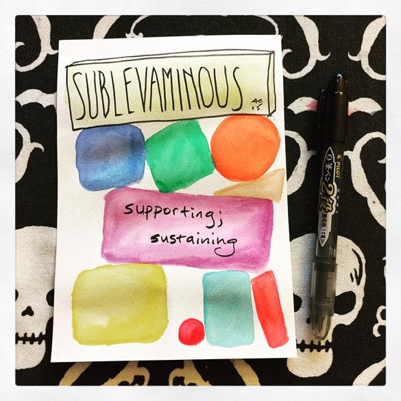 Word 10: Sublevaminous