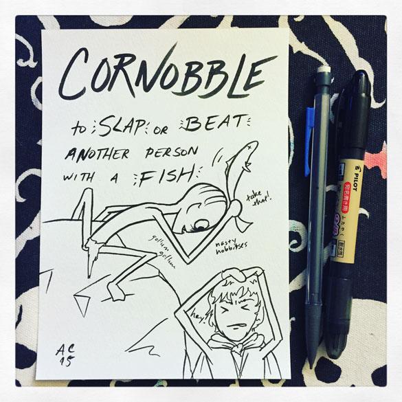 Word 23: Cornobble