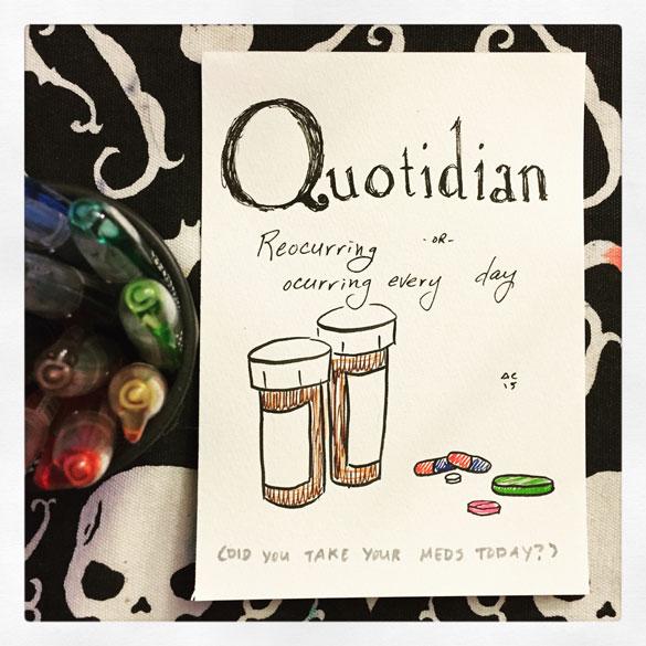 Word 27: Quotidian