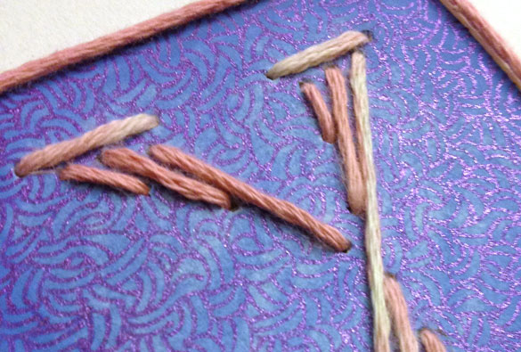Y is for Yarn, detail, by Amy Crook