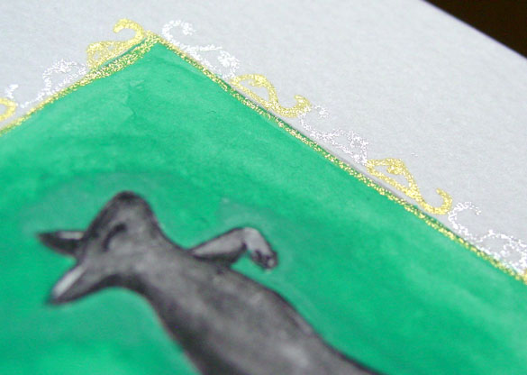 Z is for Zoomorphic, detail, by Amy Crook